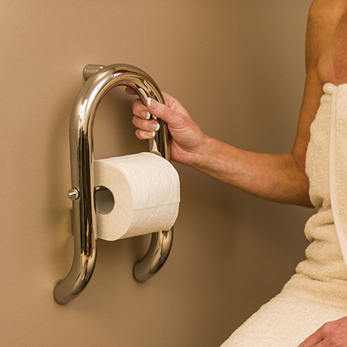 Invisia Wall Toilet Roll Holder - Product Picture