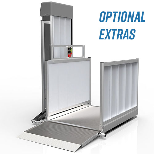 PASSPORT Vertical Platform Lift - Optional Extras - Product Picture